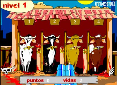 Mad Cows Game